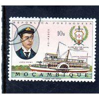"Мозамбик.Ми-538.Joao Roby, речной сторожевой катер ""Гренада"". 1967."