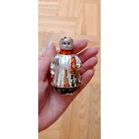 Девочка с куклой в реставрацию елочная игрушка СССР