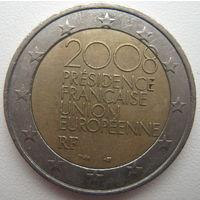 Франция 2 евро 2008 г. Председательство в Евросоюзе (a)