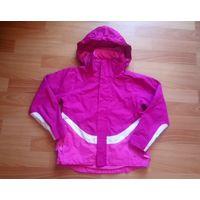 Куртка детская ветровка с капюшоном на 9-10 лет