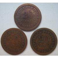Кабо-Верде 20 сентаво 1930 г. Цена за 1 шт. (gl)