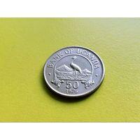 Уганда. 50 центов 1976. (1).