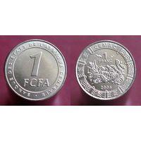 Центральная Африка 1 франк 2006 UNC