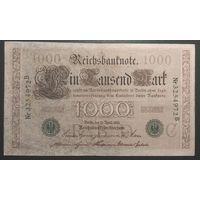 1000 mark 1910 зеленая