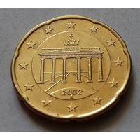 20 евроцентов, Германия 2002 A