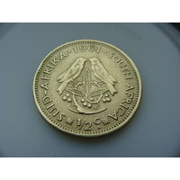 ЮАР. / Южная Африка / 1/2 цента 1961 год KM#56
