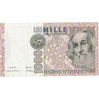 Италия, 1 000 лир, 1982 г.