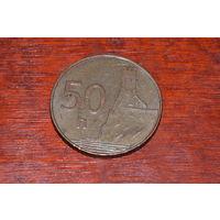 Словакия 50 геллеров 2006