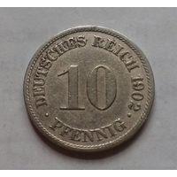 10 пфеннигов, Германия 1902 A