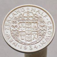 Новая Зеландия 1/2 кроны 1934