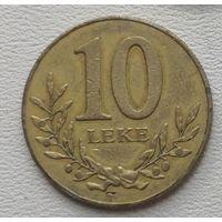 Албания 10 лек 1996