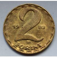 Венгрия, 2 форинта 1983 г.