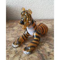 Статуэтка стеклянная Тигр, Нёман