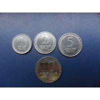 Шри-Ланка 10, 5, 2, 1 рупии 2017 г.