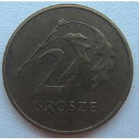 Польша 2 гроша 2009 г.