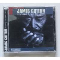 Audio CD, JAMES COTTON – LIVING THE BLUES - 1994