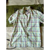 Рубашка ZARA в отличном состоянии