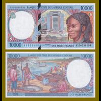 [КОПИЯ] Габон 10 000 франков 2000г.