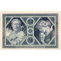 Германия, 20 марок, 1915 г.