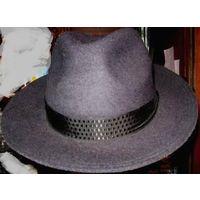 Шляпа 57 натуральный фетр как Новая УНИСЕКС