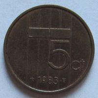 Нидерланды, 5 центов 1983 г
