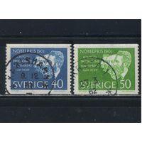 Швеция 1961 Лауреаты Нобелевской премии 1901 Рентген Вант-Гофф Салли-Придом Беринг