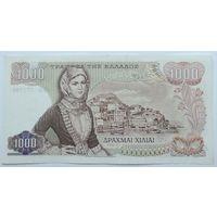 Греция 1000 Драхм 1970 , XF+, 601