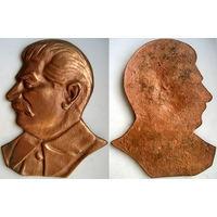 И. В. Сталин. Барельеф