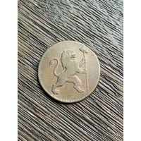 Австрийские Нидерланды 2 лиарда 1790 г. Самая редкая