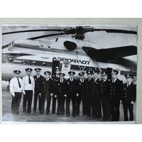Фото авиация Аэрофлот вертолет Ми-6А, 1970-е гг.