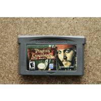 Картридж GameBoy Advance Pirates of The Caribbian Dead man`s Chest (eng)