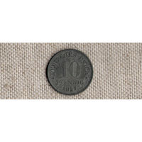Германия 10 пфеннигов 1921(Ab)