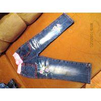 Всё джинсовое для девочки из Кёльна 4-5-6 лет