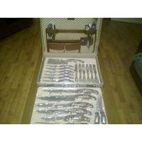 Профессиональный набор кухонных ножей и вилок в кейсе.Оригинал.Германия.