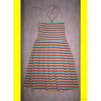 Яркий пляжный сарафан-бандо H&M, р.42-44. Новый.