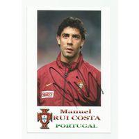 Manuel Rui Costa(Португалия). Живой автограф на фотографии #3