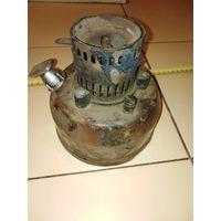 Лампа не комплект, кирогаз, времен СССР, типа шмель. Латунная горелка