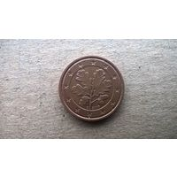 "Германия 2 евроцента, 2008""G"". (А-11)"