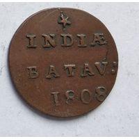 Голландская Ост-Индия 1/32 гульдена, 1808 3-5-11