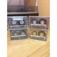 Аудиокассеты фирменные без оригинального вкладыша