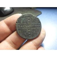 5 копеек 1729 г. Петр 2 Российская Империя