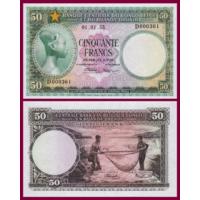 [КОПИЯ] Бельгийское Конго 50 франков 1955г.