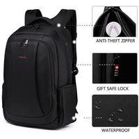 Стильный мужской рюкзак, дорожная сумка ,водонепроницаемый,коричневый, школьный рюкзак  с отделением для 15.6  ноутбука, сумка  для путешествий
