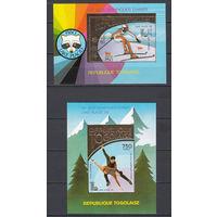 "Спорт. Олимпийские игры ""Лейк-Плесид 1980"". Того. 1980. 2 блока. Michel N бл152-153 (70,0 е)"