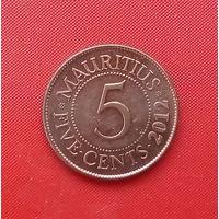 49-08 Маврикий, 5 центов 2012 г.