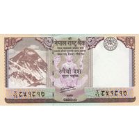 Непал 10 рупий 2012 (UNC)