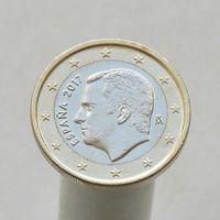 Испания 1 евро 2017 ( 3-й тип )