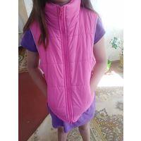 Жилетка куртка для девочки 10-11 лет