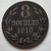 Гернси 8 дублей, 1910 1-9-14