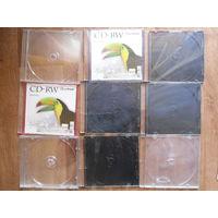Коробки для CD-дисков (3 надломанные)